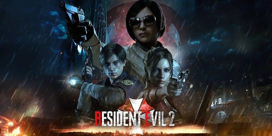 Resident Evil 2 PS4 PlayStation 4 1