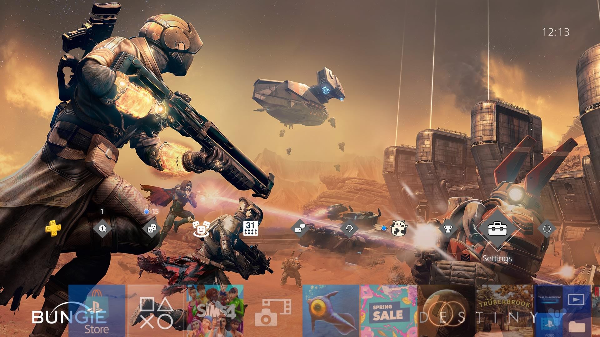 destiny theme.original - PlayStation 4 - Guida: i migliori temi gratuiti da scaricare