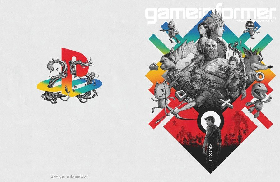 PlayStation Game Informer 25th Anniversary Cover