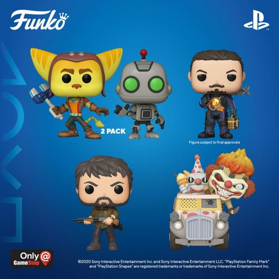 PlayStation Funko Pop 1