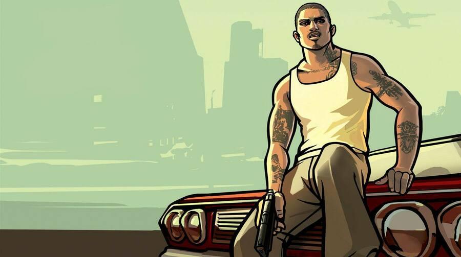GTA San Andreas PS5 PlayStation 5 1