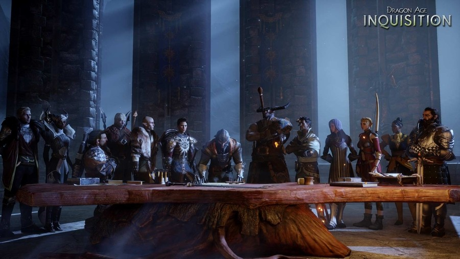 Dragon Age Party