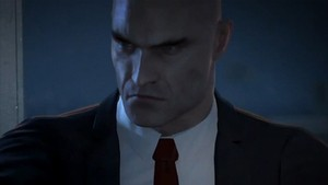 Agent 47's looking familiarly ruthless in Hitman: Absolution.