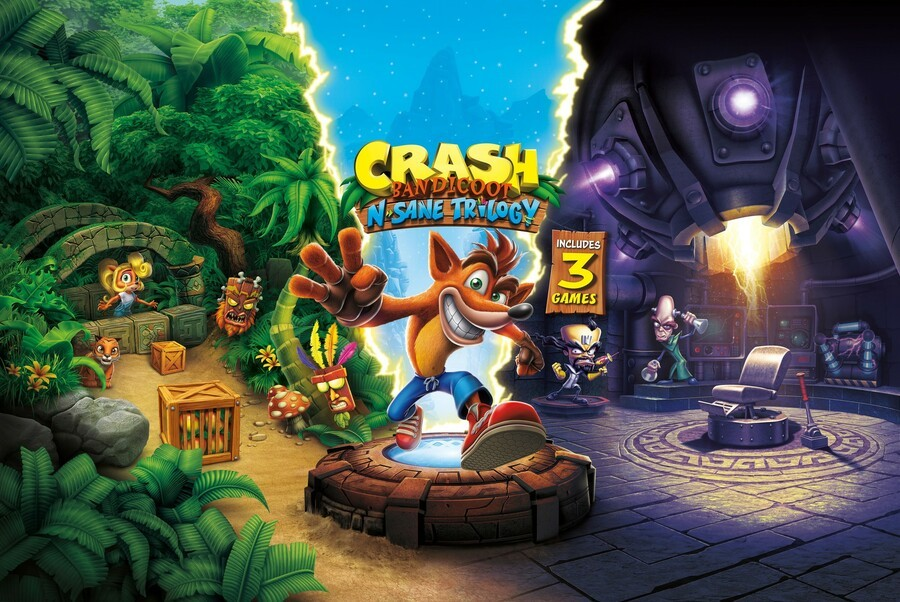 Crash Bandicoot N Sane Trilogy PS4 PlayStation 4 1