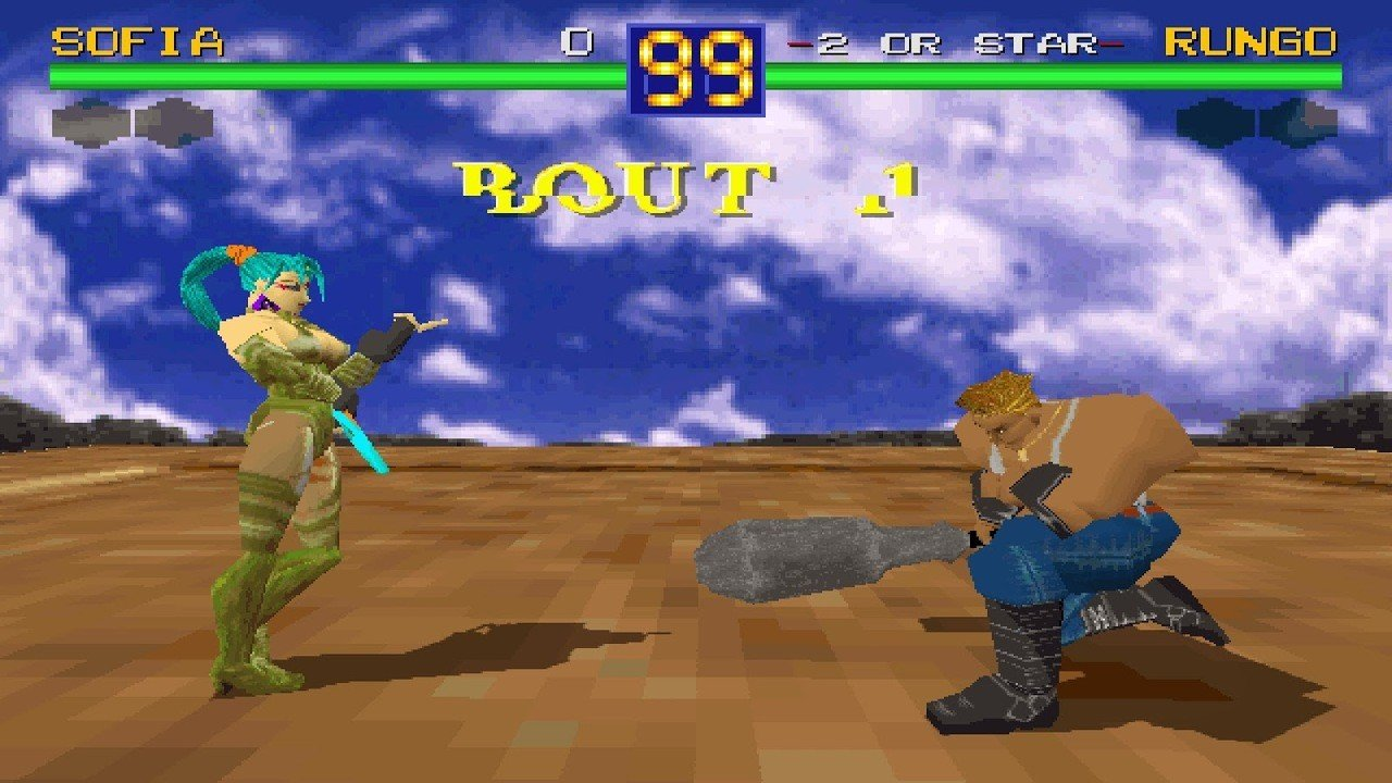 Battle Arena Toshinden Review Psone Push Square