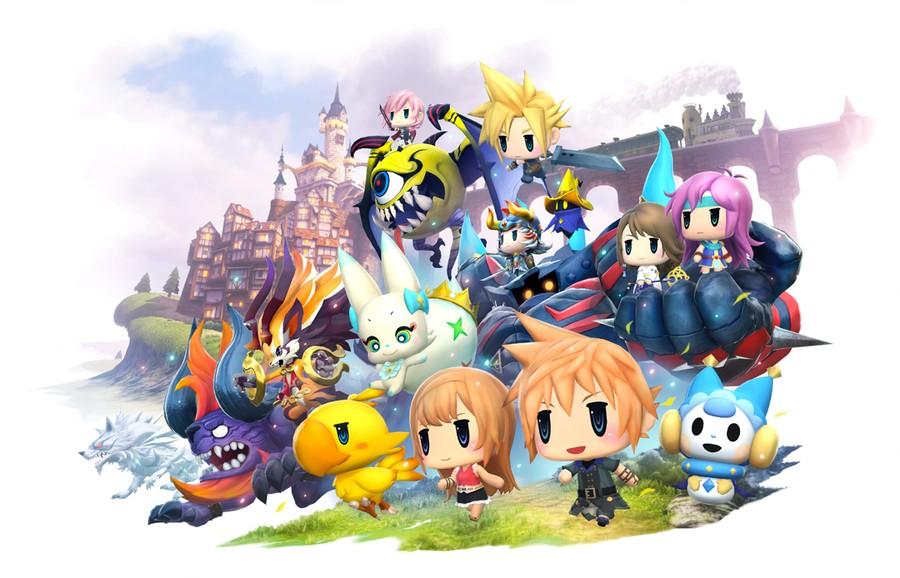 World of Final Fantasy Maxima PS4 PlayStation 4 1