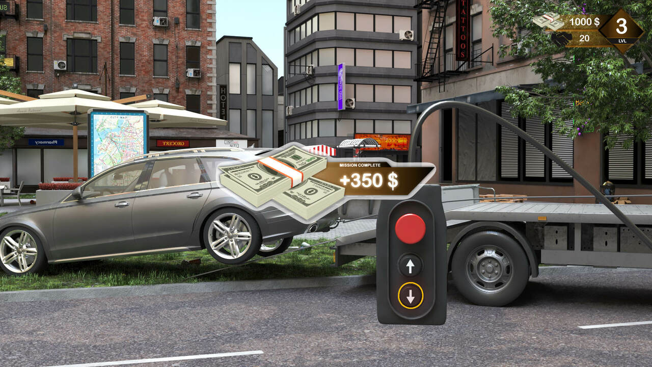 Симулятор помощи на дороге буксирует PS5 2023 года, дата выхода PS4
