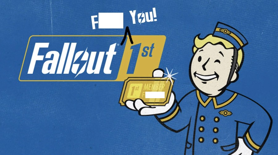 Fallout 1st Fallout 76 PS4 PlayStation 4