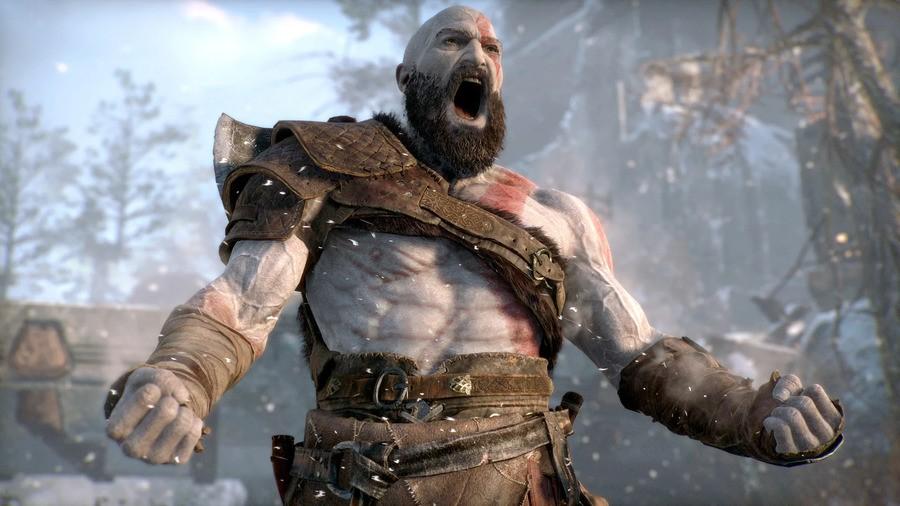 God of War SunhiLegend Much PS4 GIF Gameplay