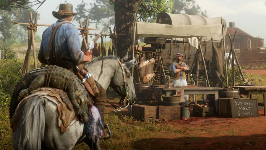 red dead redemption 2 how to upgrade camp guide 1