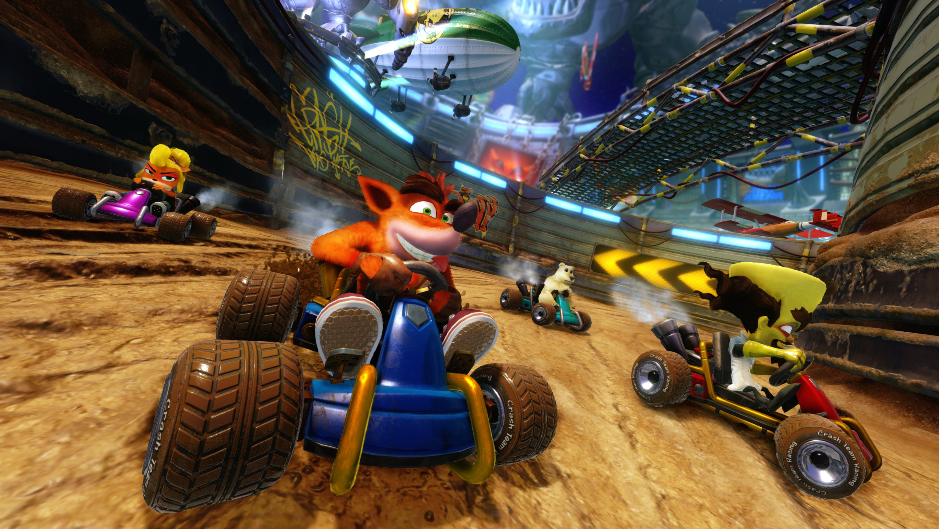 Crash Team Racing Nitro Fueled PS4 Play Station 4 2