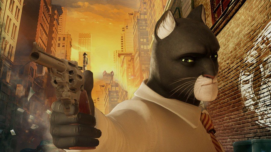 Blacksad Under the Skin PS4 PlayStation 4 1