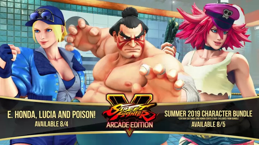 Street Fighter V Honda Poison Lucia