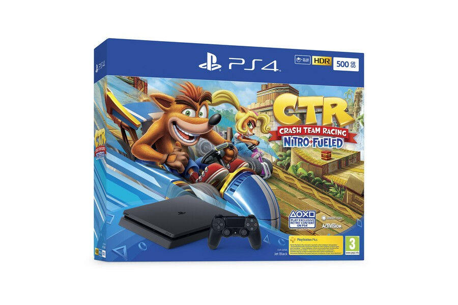 Crash Team Racing Nitro-Fueled Console Bundle PS4 PlayStation 4