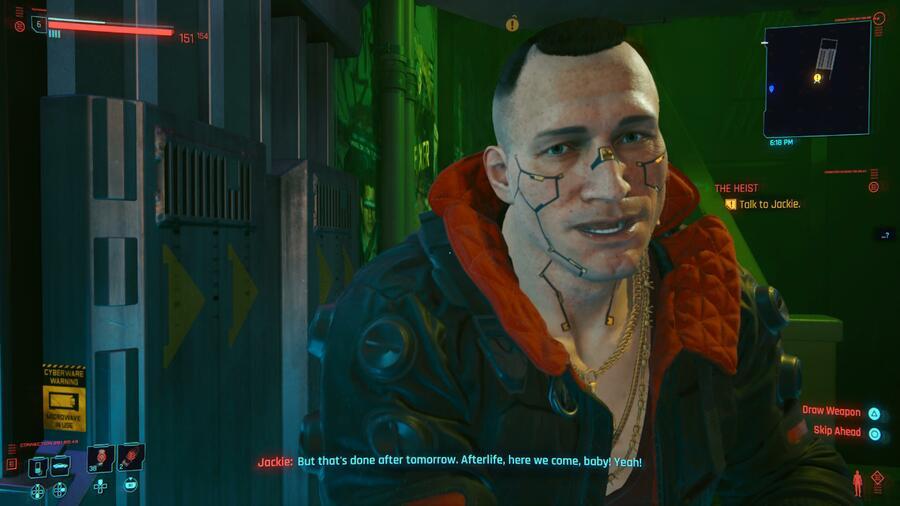 Cyberpunk 2077 Graphics PS5 PS4 1
