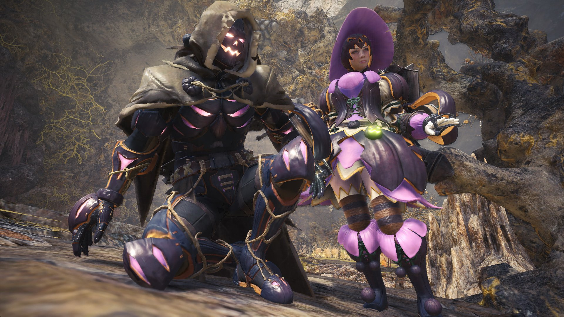 Monster Hunter: World's Spooky Autumn Festival Is Live on PS4, Nab a