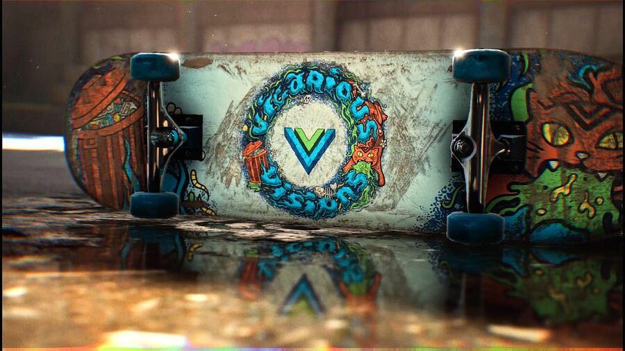 Tony Hawk's Pro Skater 1 + 2 Vicarious Visions Logo Guide PS4 PlayStation 4 1