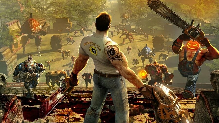 Serious Sam Collection PS4 PlayStation 4 1