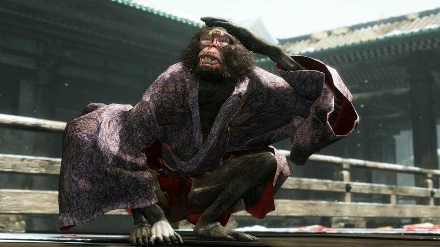 Sekiro: Shadows Die Twice How to Kill Folding Screen Monkeys Boss Guide PS4 PlayStation 4