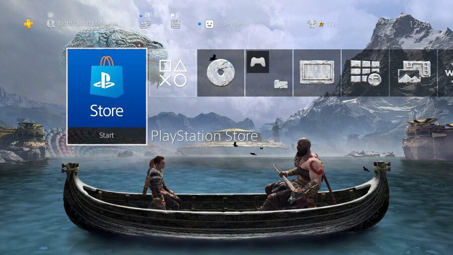 God of War PS4 PlayStation 4 Theme