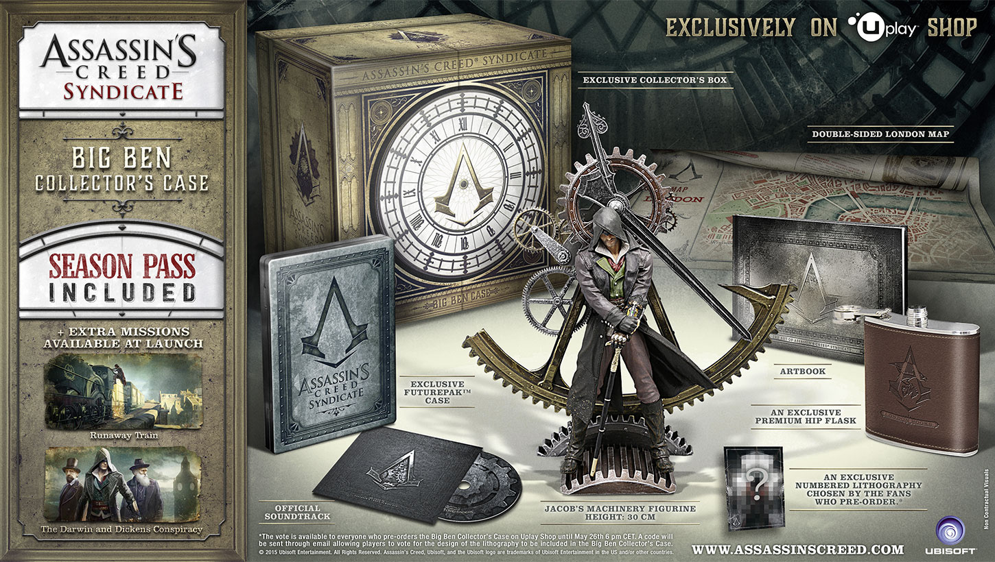 The Number Of Assassin S Creed Syndicate Special Editions Is