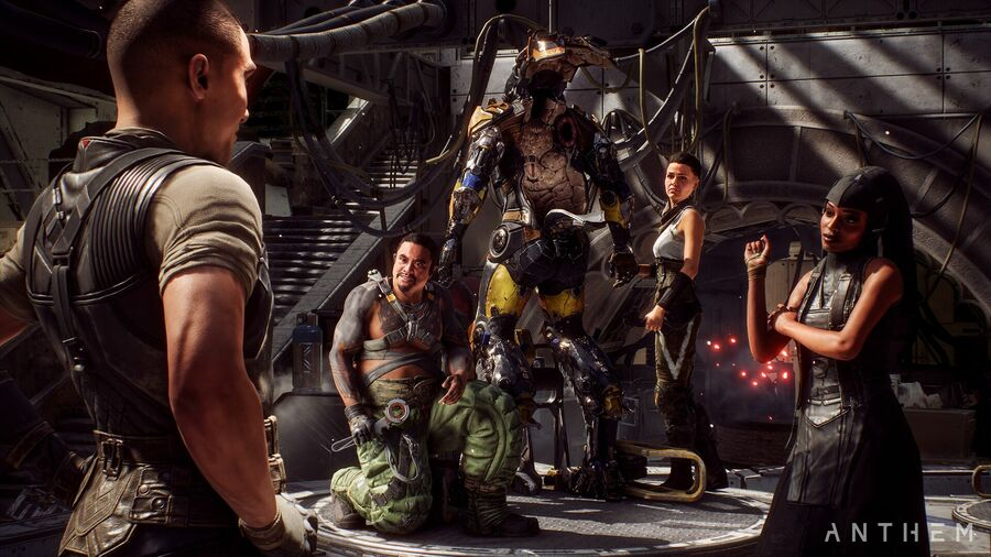 Anthem All Vendor Locations & Roles PS4 Guide 1