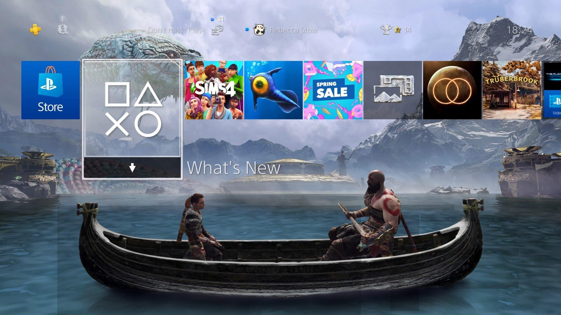 god of war your journey awaits theme.original - PlayStation 4 - Guida: i migliori temi gratuiti da scaricare
