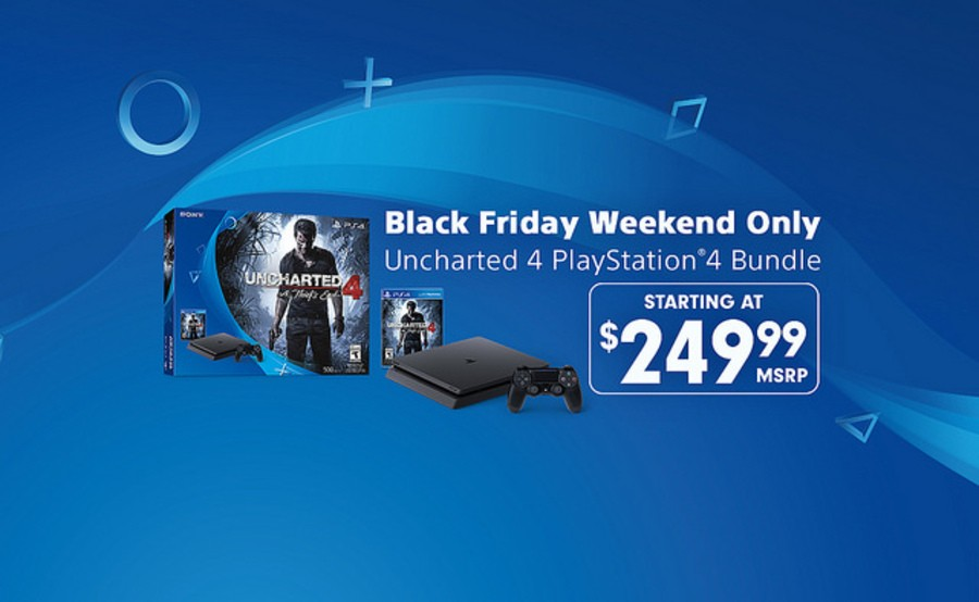 Uncharted 4 PS4 PlayStation 4 Black Friday Bundle 1