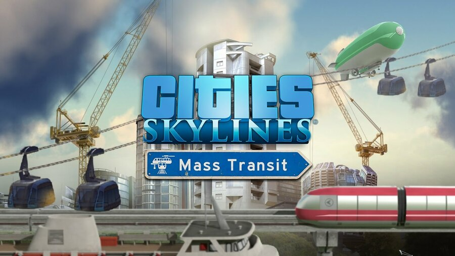 Cities Skylines Mass Transit PS4 PlayStation 4 Review