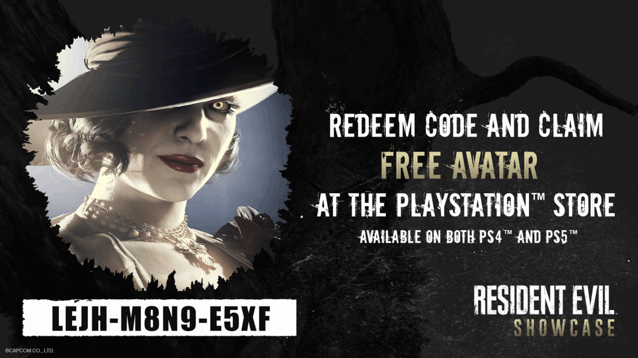 Get a Free Resident Evil Village Avatar for Your PS5, PS4