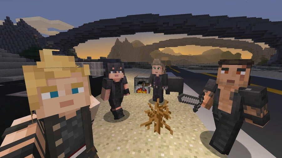 minecraft final fantasy xv.jpg