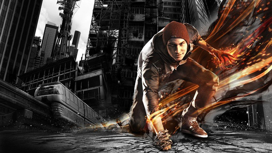 inFAMOUS Second Son PS4 PlayStation 4