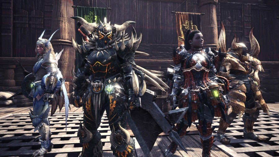Monster Hunter World Iceborne Layered Armour