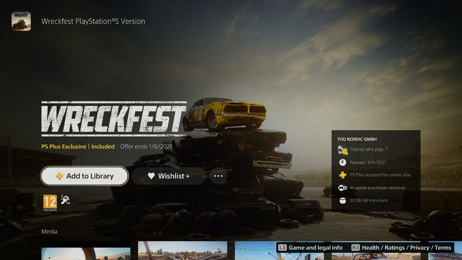 Wreckfest PS5 PlayStation 5 1