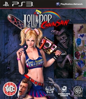 Yes, this is an appropriate image for the front-cover of Grasshopper's upcoming Lollipop Chainsaw.
