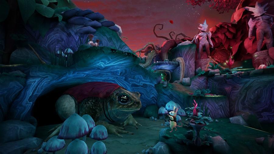 Moss Twilight Garden PS4 PlayStation 4 PSVR