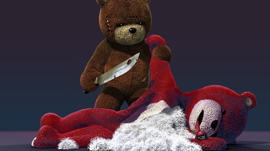Naughty Bear PS3 PlayStation 3 1