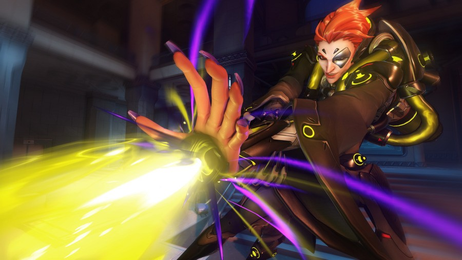 Moira PS4 PlayStation 4 Overwatch 1
