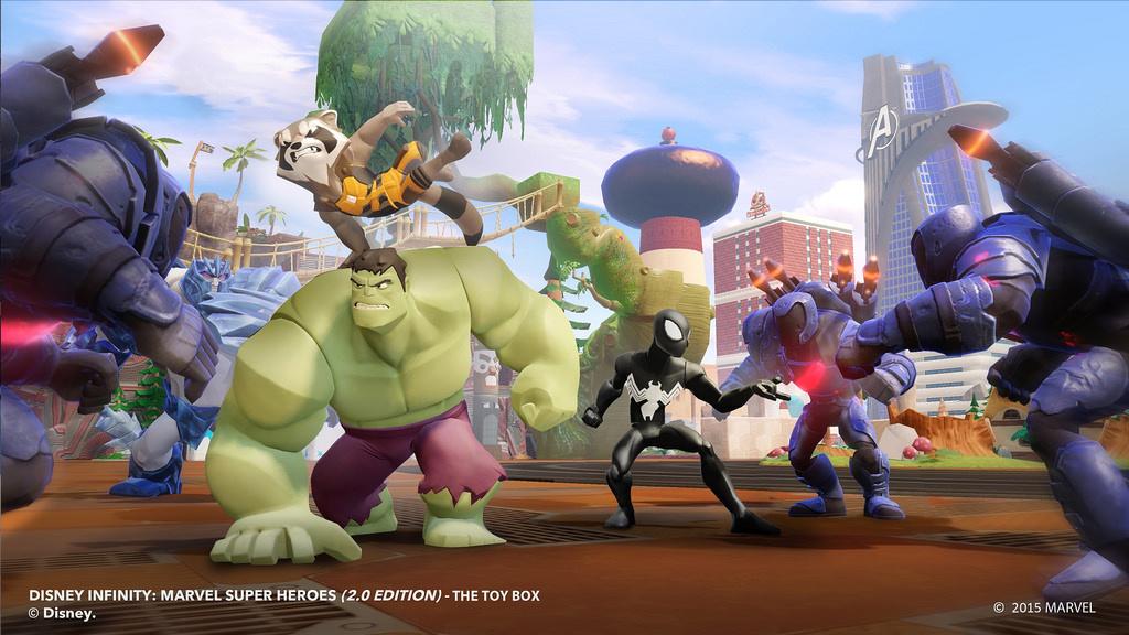 Is Disney Infinity 2 0 On Ps Vita A Miniature Marvel Push Square