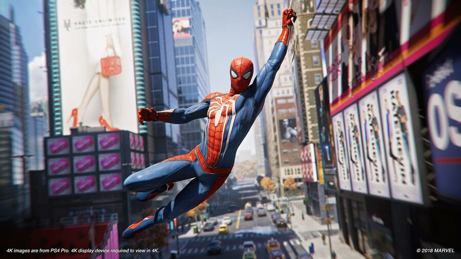 Marvel's Spider-Man PS4 PlayStation 4 PS Store Christmas Sale