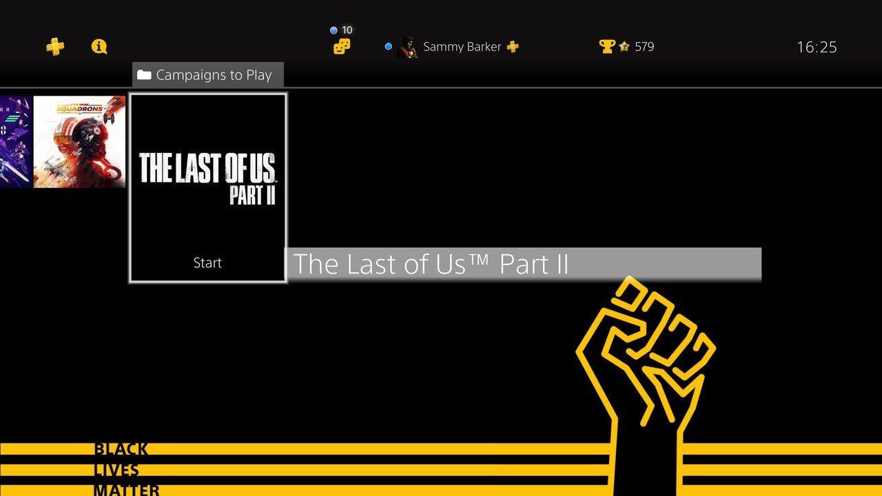 Sony Releases Free Black Lives Matter Theme for PS4 - Push ...