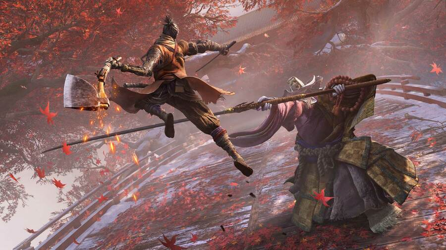 Sekiro: Shadows Die Twice How to Kill Corrupted Monk Boss Guide PS4 PlayStation 4