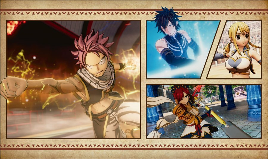 Fairy Tail PS4 Art 1