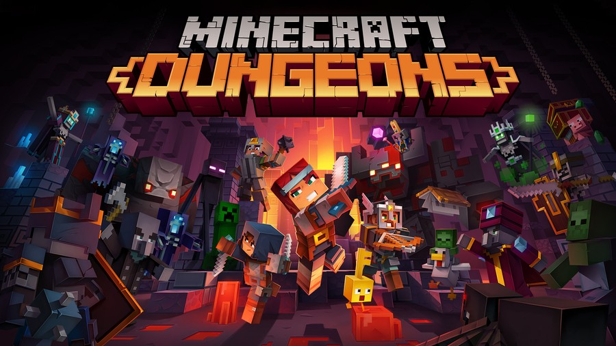 Minecraft Dungeons PS4 PlayStation 4 1