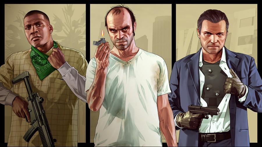 Grand Theft Auto V PS4 PlayStation 4