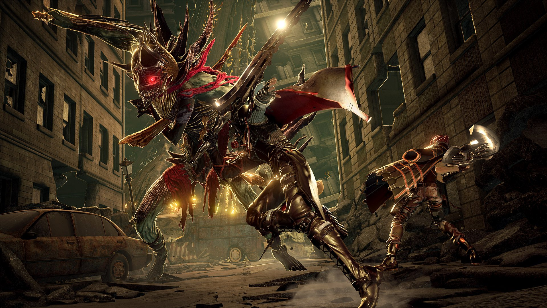 Code Vein network test slated for May - here's 50 minutes of gameplay