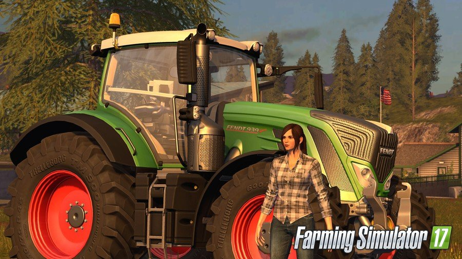 Farming Simulator 17 PS4 PlayStation 4 1