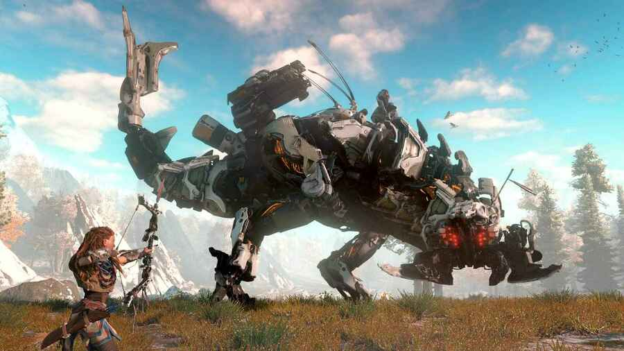 Horizon: Zero Dawn PS4 PlayStation 4 Software Attach Rate