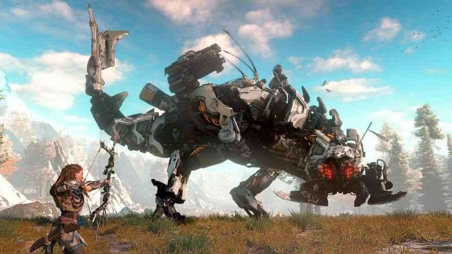 Horizon: Zero Dawn PS4 PlayStation 4 Software Attach Rate