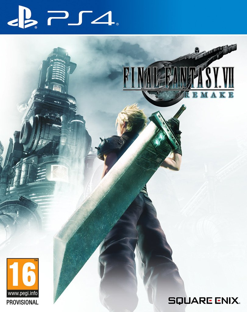 Final Fantasy VII Remake Box Art Revealed! (FF News 9/20/19 to 9/27/19)